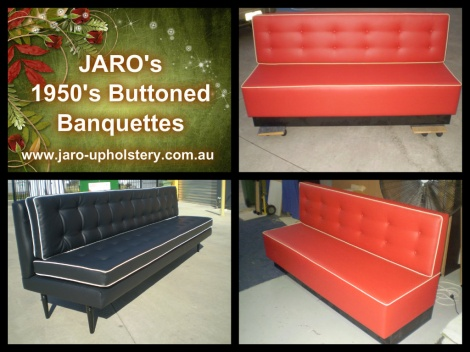Jaro S 1950 Buttoned Banquettes And Booths For Melbourne