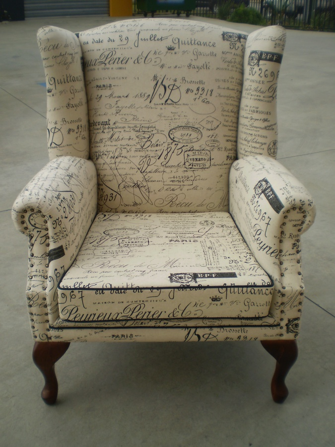 Revenge Fabric Is Now On Jaro Wing Chairs Jaro