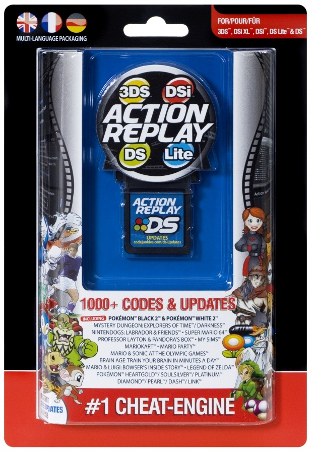 ACTION REPLAY FOR 3DS DSi XL DS LITE