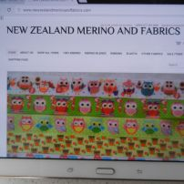 1. A New Site - Allthe ribbons and fabrics are now on the new website