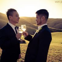 civil union gay wedding
