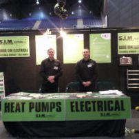 S.I.M Electrical at the Homeshow