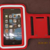 Iphone 3G/3GS and 4/4S and Ipod Armband - Red