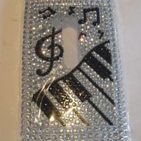 Nokia Lumia 920 Bling Music Case Cover