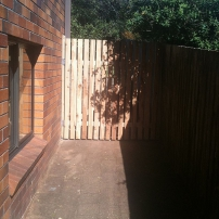 Gate manufactured in Port Macquarie