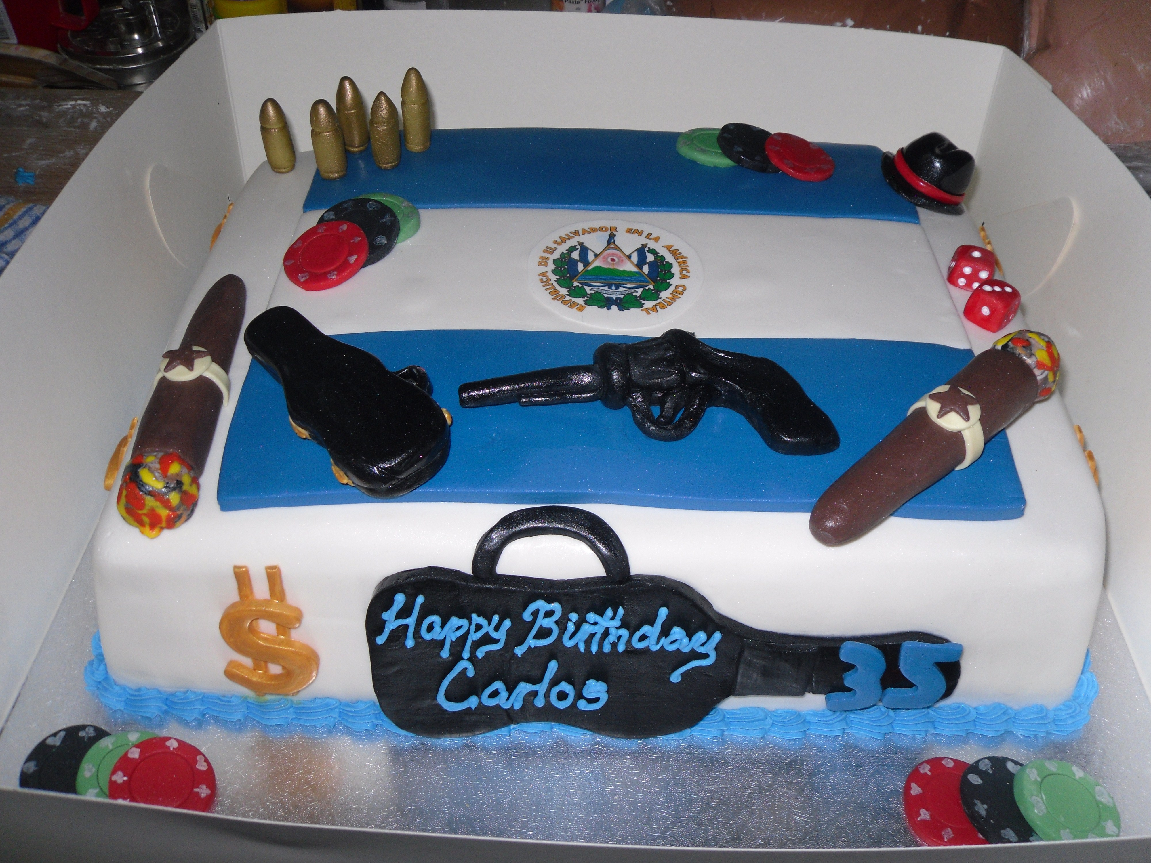 Daddy Themed Cakes