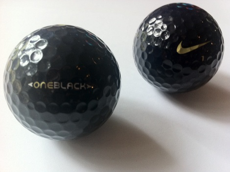 zz Nike (BOB) Black one Black golf ball(SOLD)