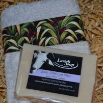 Goats Milk Soap facecloth set