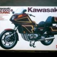 Kawasaki Touring Motorcycle