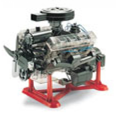 1:4 Scale Visible V8 Engine