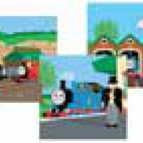 RAVENSBURG 3 X 49PIECE PUZZLE