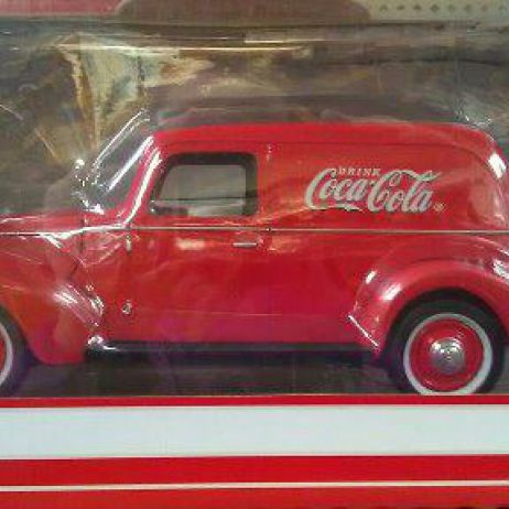 1940 Delivery Van Coco Cola