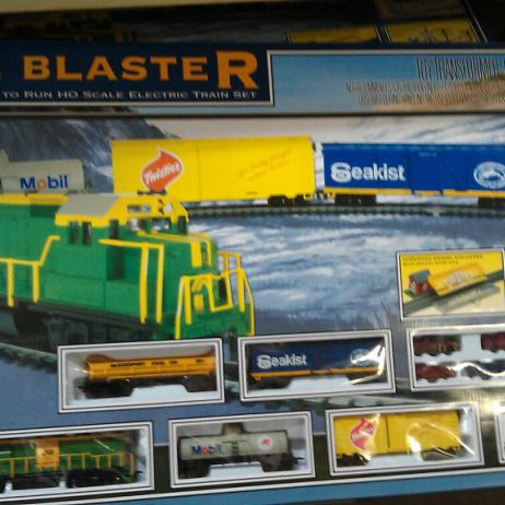 Railblaster  Trainset