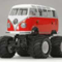 XB-PRO Built Tamiya VW T1 Wheelie 2.4ghz Radio