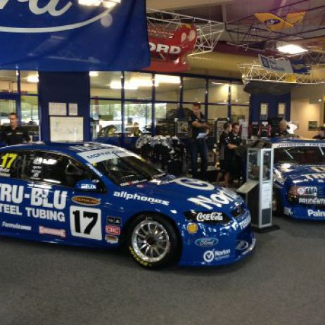 DJR V8 Supercar 2012