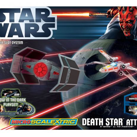 Micro Scalextric Death Attack Star Wars
