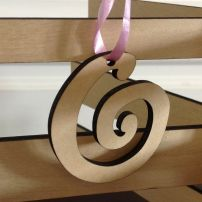 Alternative Image for Koru Decoration