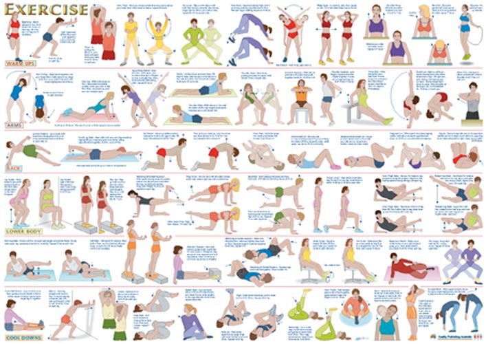 Exercise Chart Related Keywords & Suggestions - Printable Exercise ...