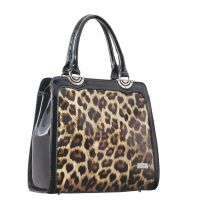 Serenade Leather Jaguar Black Trim Handbag