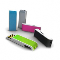 Slider USB key flash drive