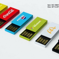 .Mini paper clip USB key flash drive