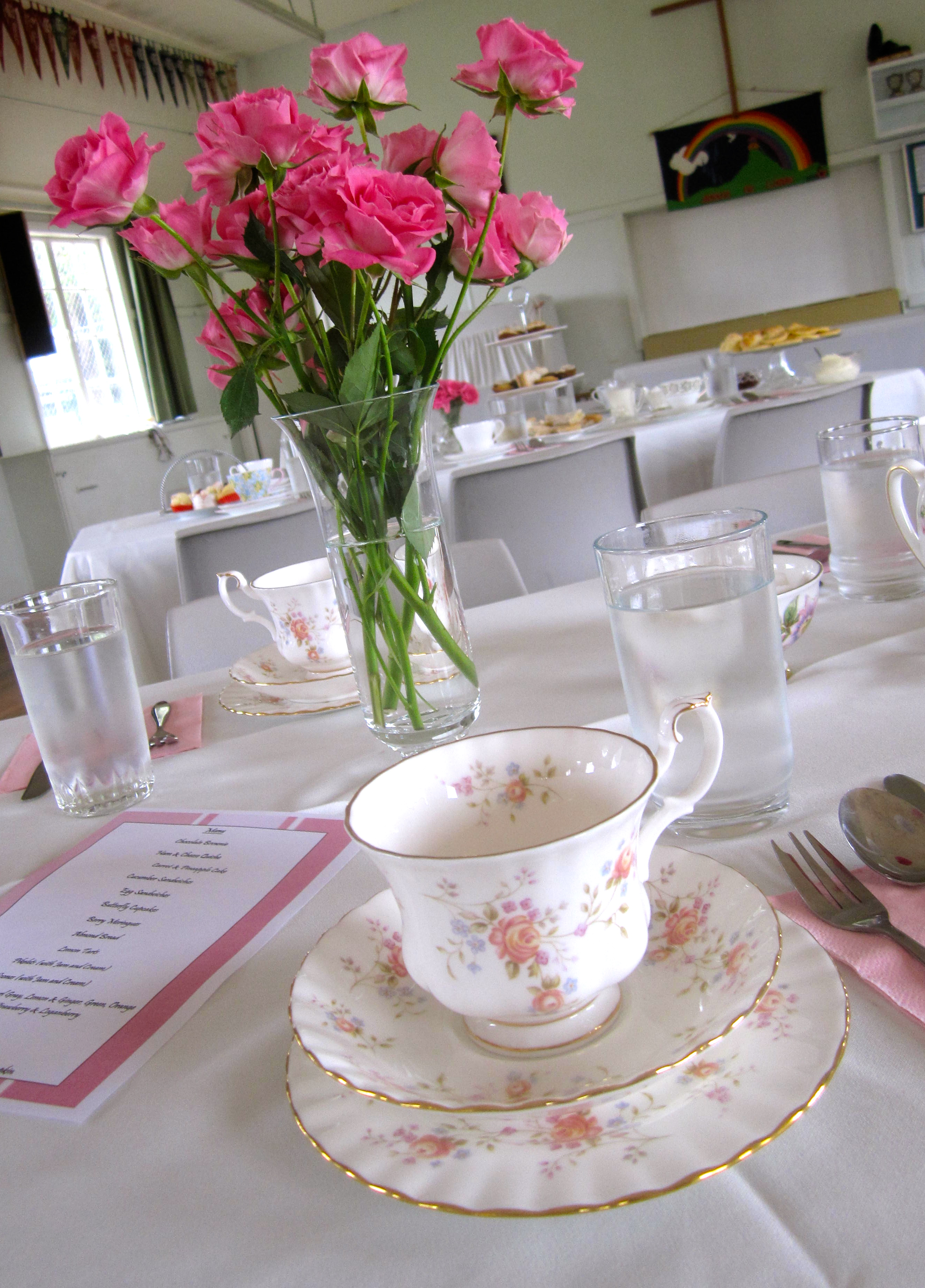 High Tea Table Decor : High tea - All Set Table and Party Decorations