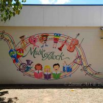 Musical-themed Mural