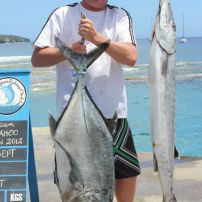 Mark, giant GT trevally sept 2012