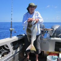 October bottom fishing in Niue
