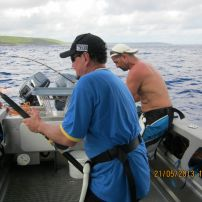 double hook up fishing in Niue